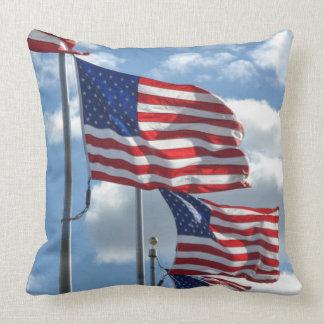 Almofada Fotografia da bandeira dos Estados Unidos