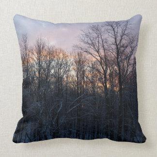 Almofada Fotografia Pastel da paisagem da natureza do