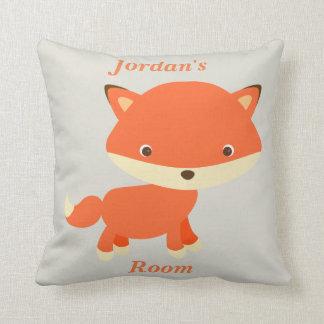 Almofada Fox bonito do bebê do travesseiro das crianças