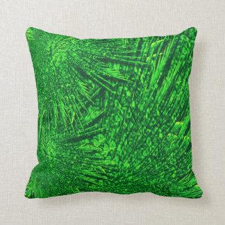 Almofada fractal. verde