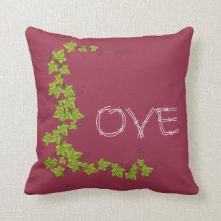 Almofada Framboesa vermelha do travesseiro decorativo