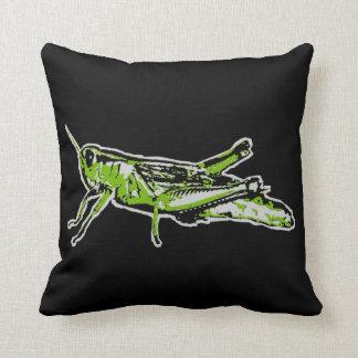 Almofada Gafanhoto verde do pop art