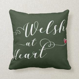 Almofada Galês no coxim do lance do coração, Wales