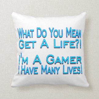 Almofada Gamer de muitas vidas