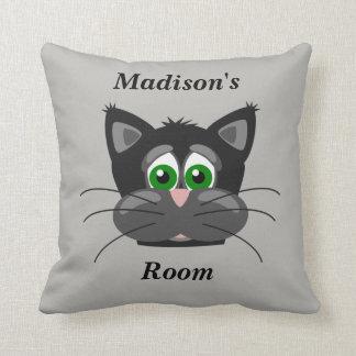 Almofada Gato bonito do travesseiro das crianças