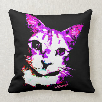 Almofada Gato de Puroke do travesseiro decorativo (de 4