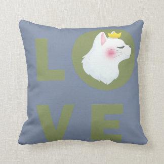 Almofada Gato do amor
