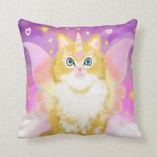 Almofada Gato do unicórnio