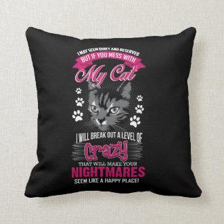 Almofada Gato louco