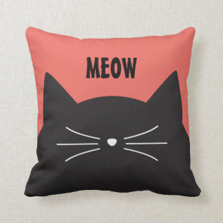 Almofada Gato preto, suiças e cauda