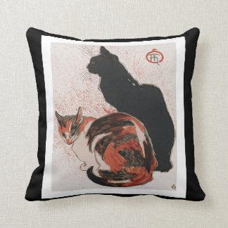 Almofada Gatos asiáticos da aguarela