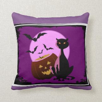 Almofada Gatos & bastões & travesseiro decorativo das