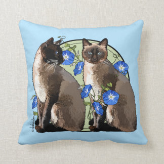 Almofada Gatos Siamese com corriolas