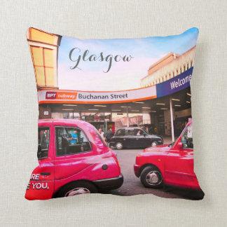 Almofada Glasgow, Scotland, estação da rua da rainha,