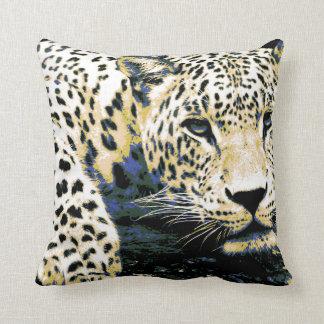 Almofada Gráfico bonito do leopardo