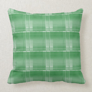 "Almofada Grande travesseiro decorativo verde 20"" da xadrez"