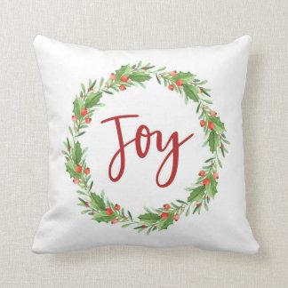 Almofada Grinalda-alegria do Natal