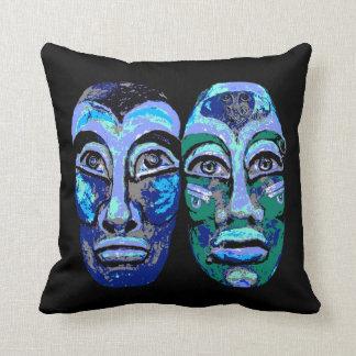 Almofada Guerreiros maias - Avant-Garde moderno na moda