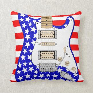 Almofada Guitarra elétrica americana