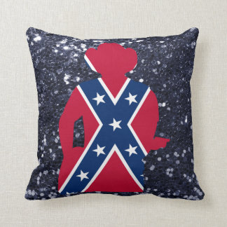Almofada Guitarrista branco & azul vermelho patriótico