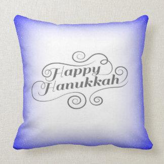 Almofada Hanukkah feliz