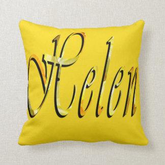 Almofada Helen, logotipo conhecido das meninas, coxim