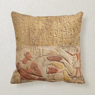 Almofada Hieroglyphics de Egipto antigo de reino médio