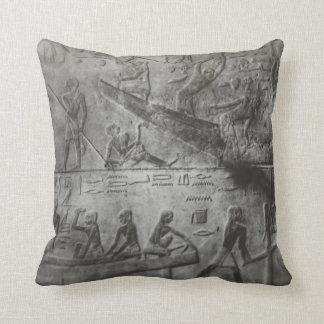 Almofada Hieroglyphics egípcios