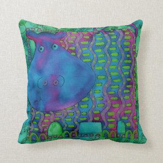 Almofada Hipopótamo modelado