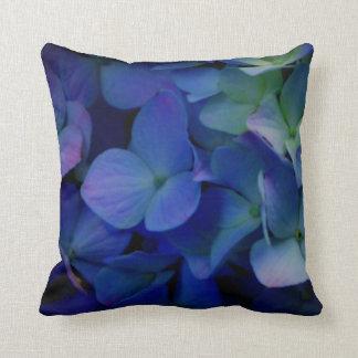 Almofada Hydrangeas roxos violetas