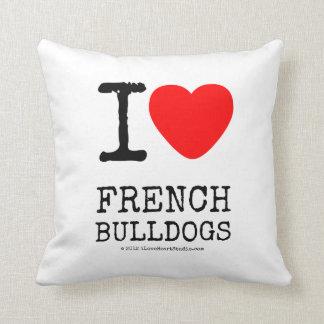 Almofada I Love French Bulldogs