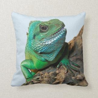 Almofada Iguana verde
