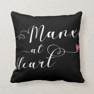 Almofada Ilha do homem Manx no coxim do lance do coração