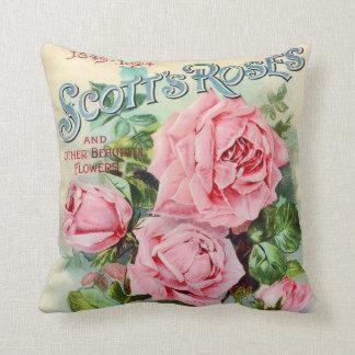 Almofada Ilustração cor-de-rosa do cobrir do catálogo da