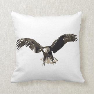 Almofada Ilustração da arte do polígono de Eagle