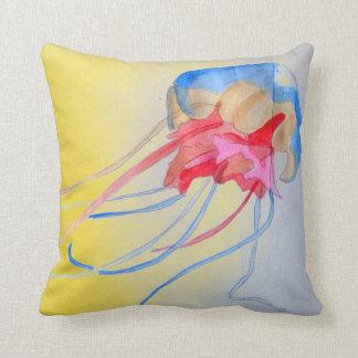 Almofada Ilustração original da arte da criatura do mar das