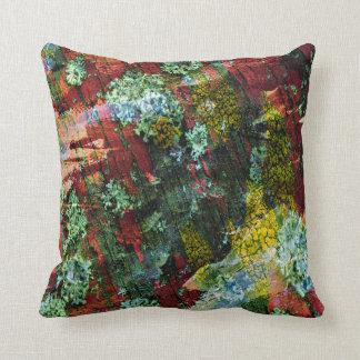 Almofada Impressão colorido da textura no travesseiro