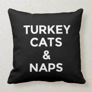 Almofada Impressão engraçado dos gatos e das sestas de