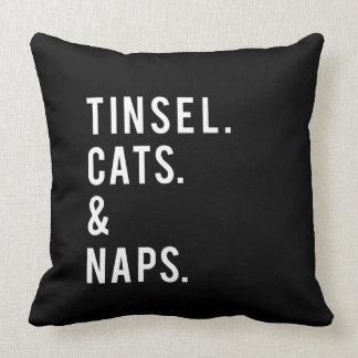 Almofada Impressão engraçado dos gatos e das sestas do