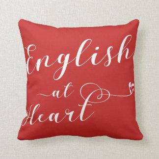 Almofada Inglês no coxim do lance do coração, Inglaterra
