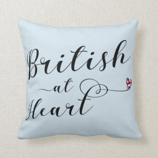 Almofada Ingleses no coxim do lance do coração, Reino Unido