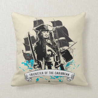 Almofada Jack Sparrow - malandro do caribe