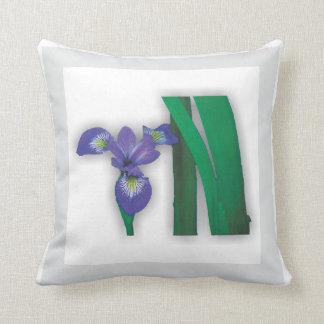 Almofada Jardim - travesseiro da íris da bandeira azul