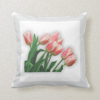 Almofada Jardim - travesseiro das tulipas