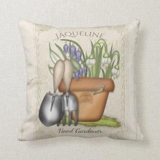 Almofada Jardineiro do primavera