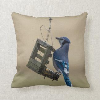 Almofada Jay azul de balanço