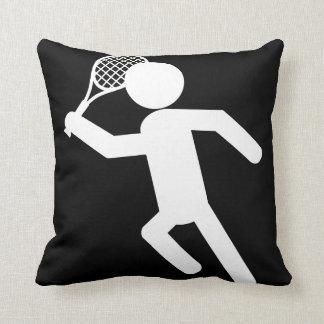 Almofada Jogador de ténis masculino - símbolo do tênis (no