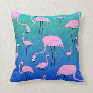 Almofada Lagoa do flamingo