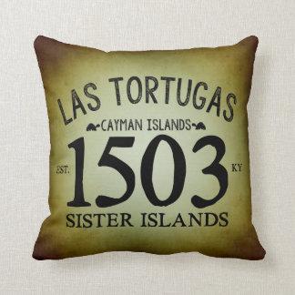 Almofada Las Tortugas EST. 1503 rústico