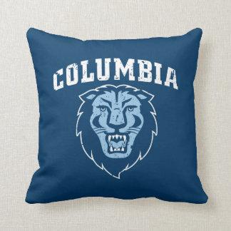 Almofada Leões da Universidade de Columbia | - vintage